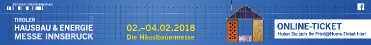 Tiroler Hausbau Messe - 09.11.2017